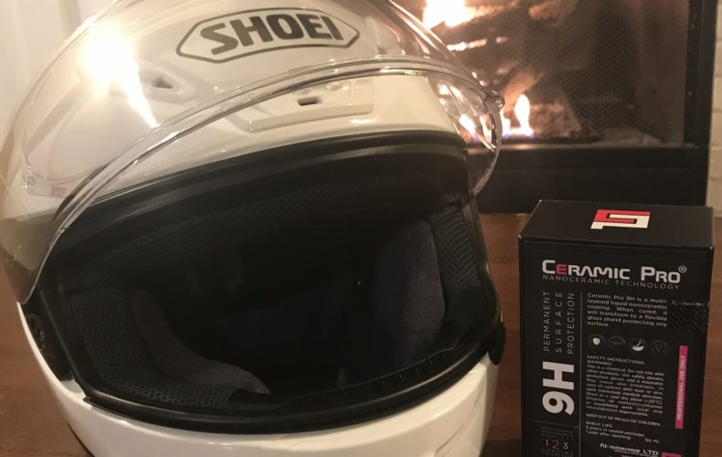 Win Ceramic Pro 9H Helmet Treatment